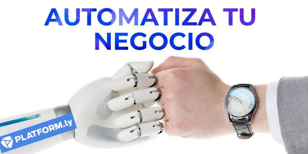 automatiza tu negocio con platformly