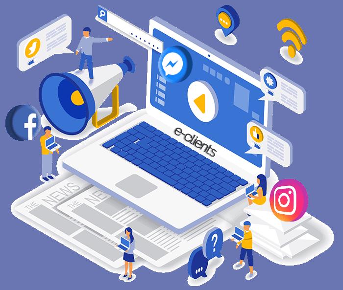 e-clients-social-media-campaign